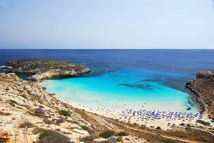 Isola dei Conigli è la più bella spiaggia d'Italia